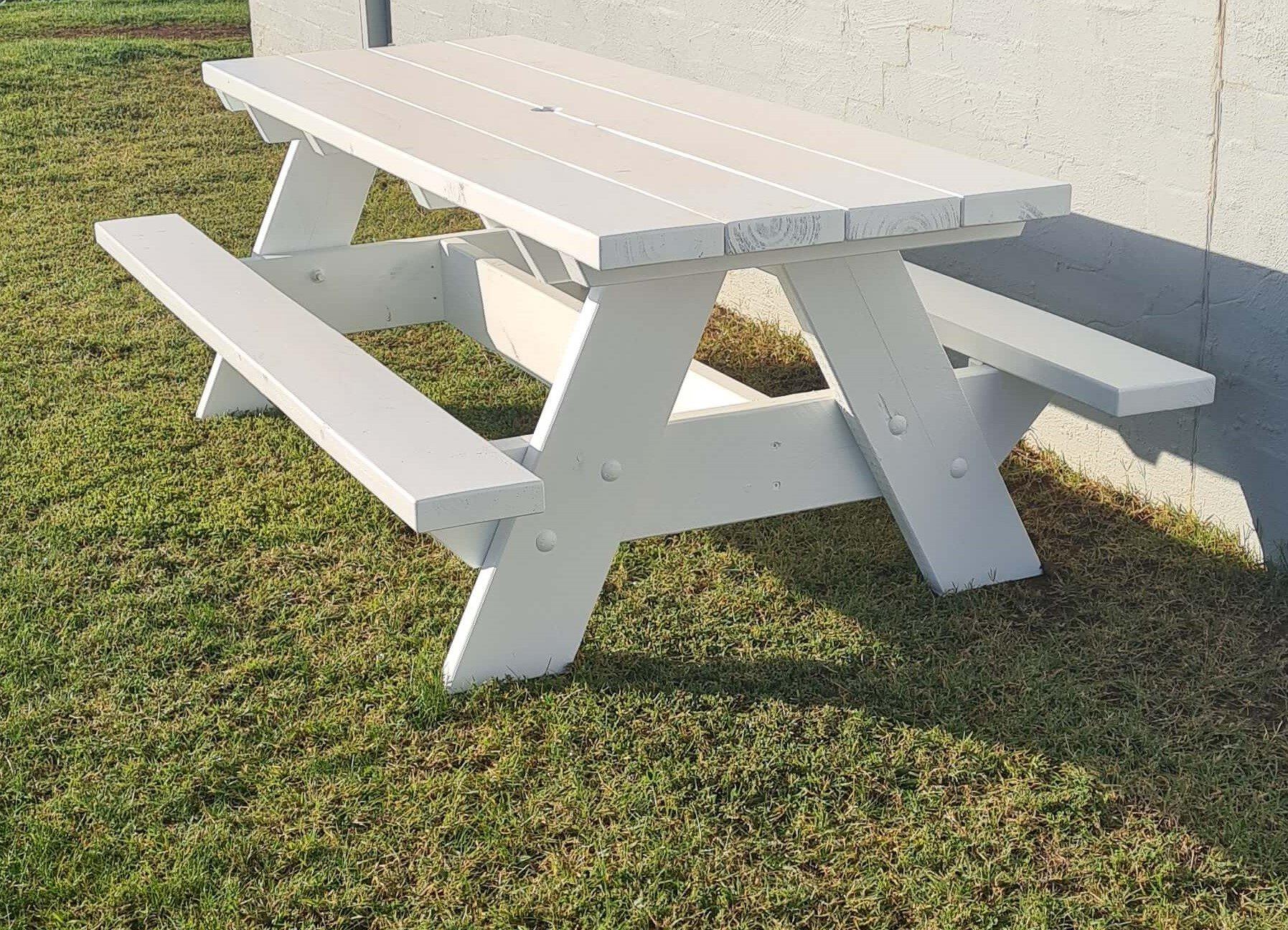 2.4m Picnic Table