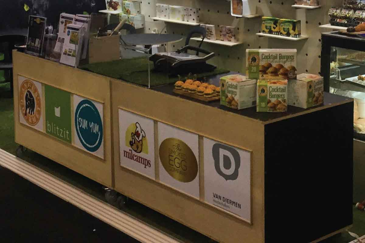Borthwick Foods - Events 720 Custom Stand