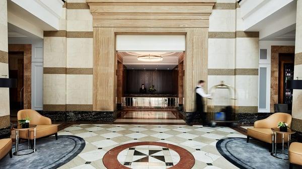 Brisbane Marriot Lobby