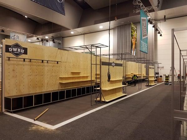 modular reusable exhibition stands
