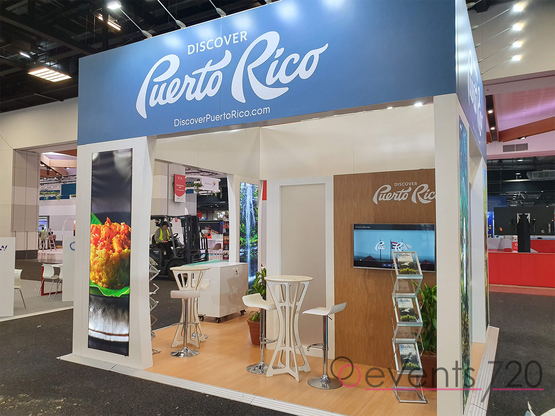 Puerto Rico Exhibition Stand