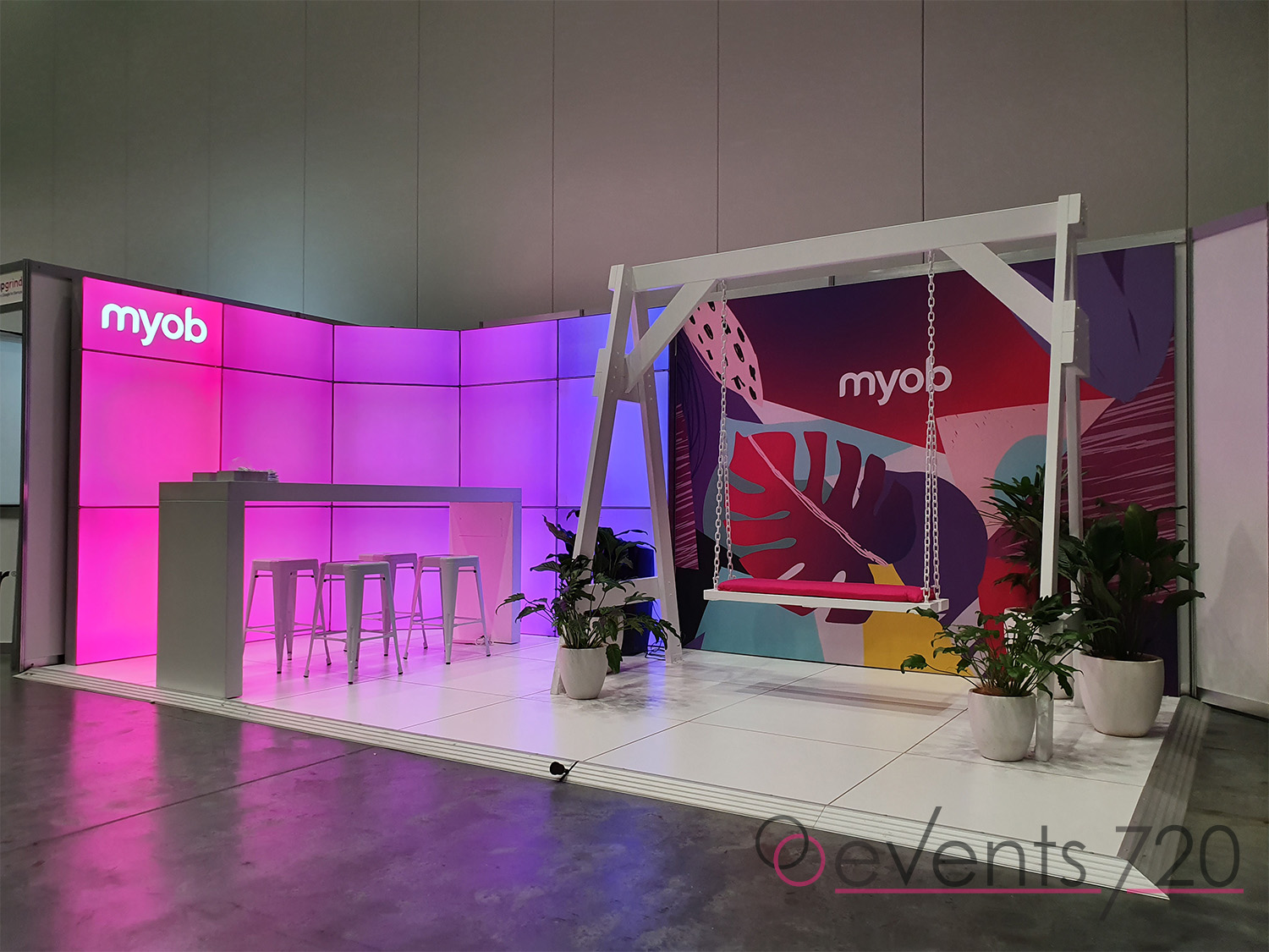 MYOB Exhibition Stand
