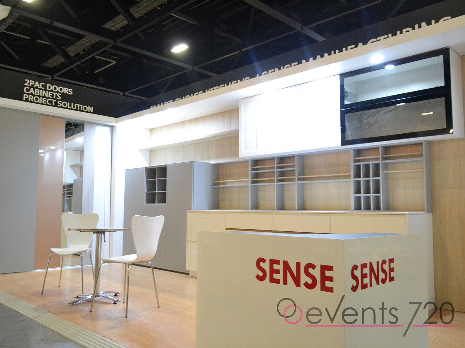 Smart Choice Kitchens Exhibition Stand