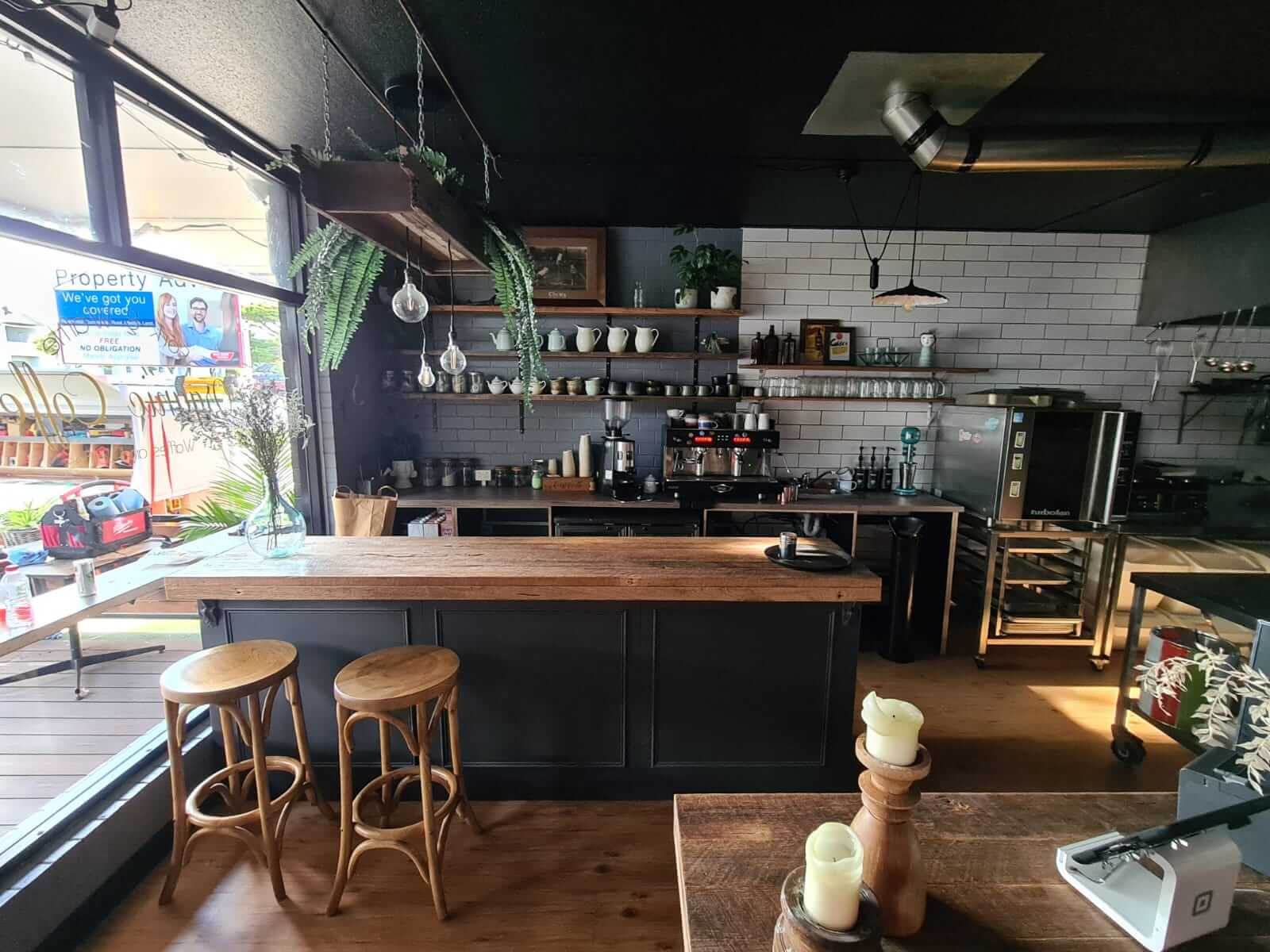 Fork and Waffle, Phillip Island Fitout