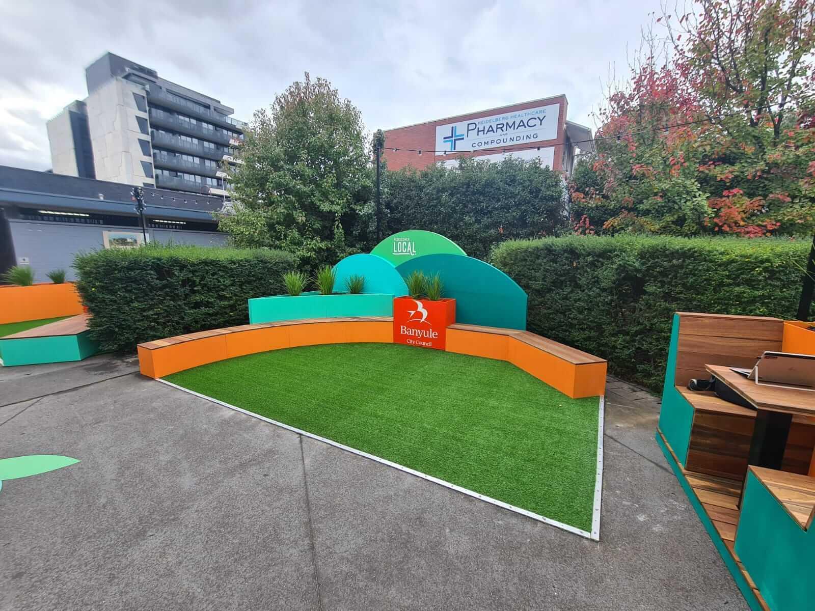 Banyule Council Pop Up Park - Placemaking