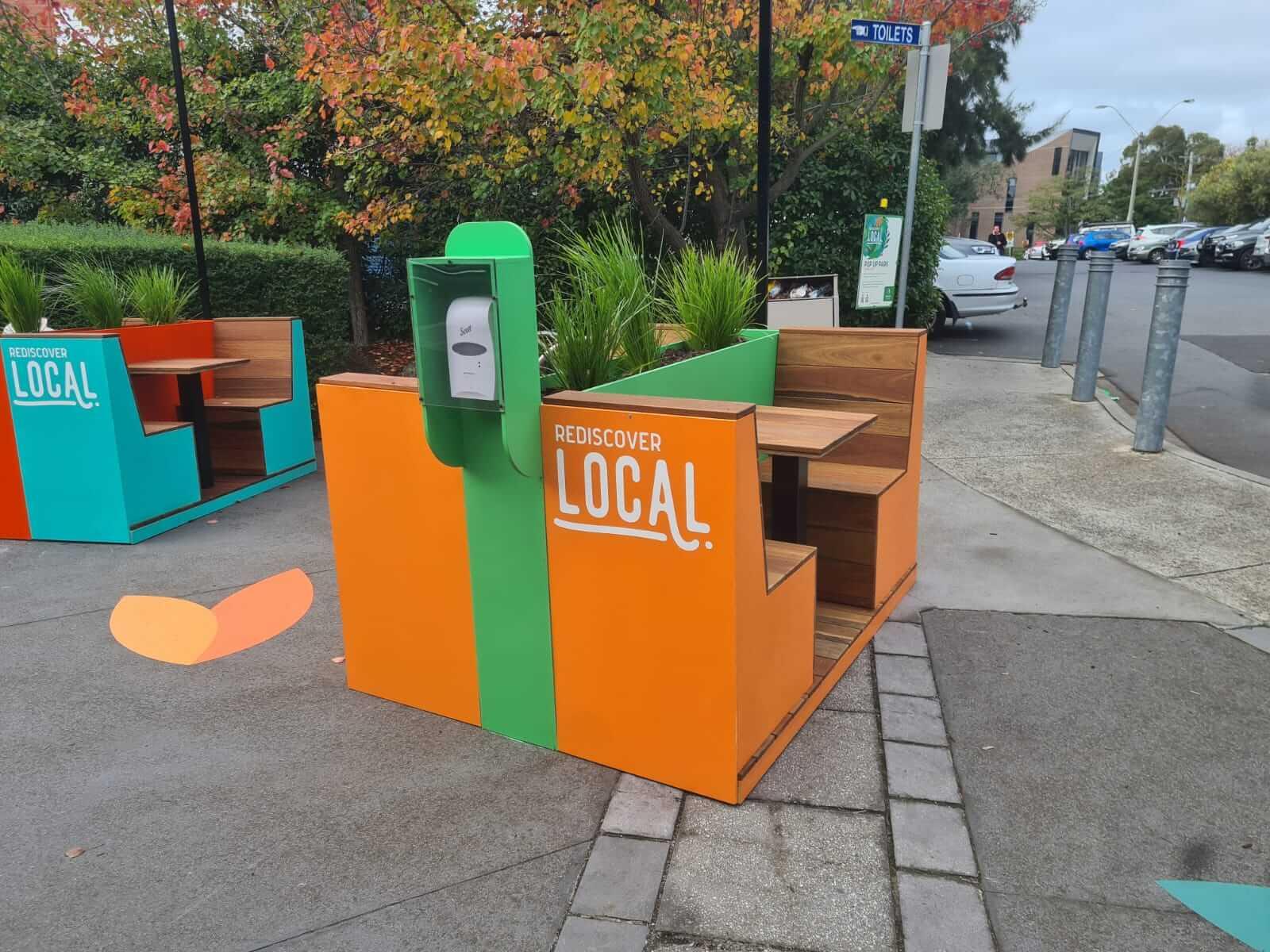 Banyule Council Pop Up Park Placemaking