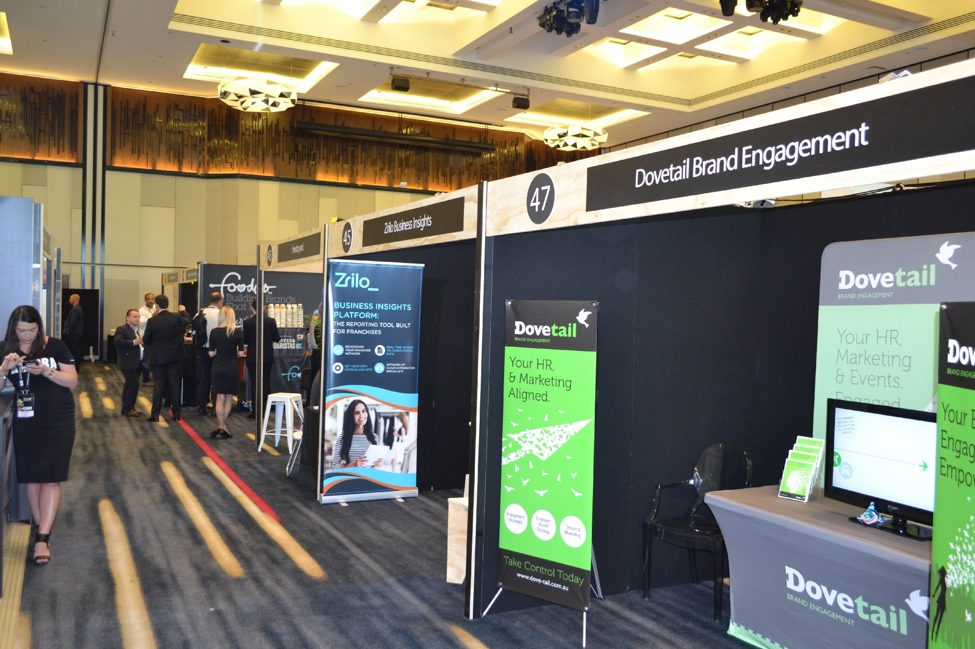 Exhibition Stand Client Success NFC