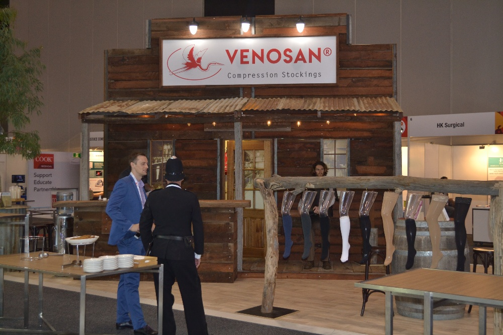 Venosan Exhibition Stand