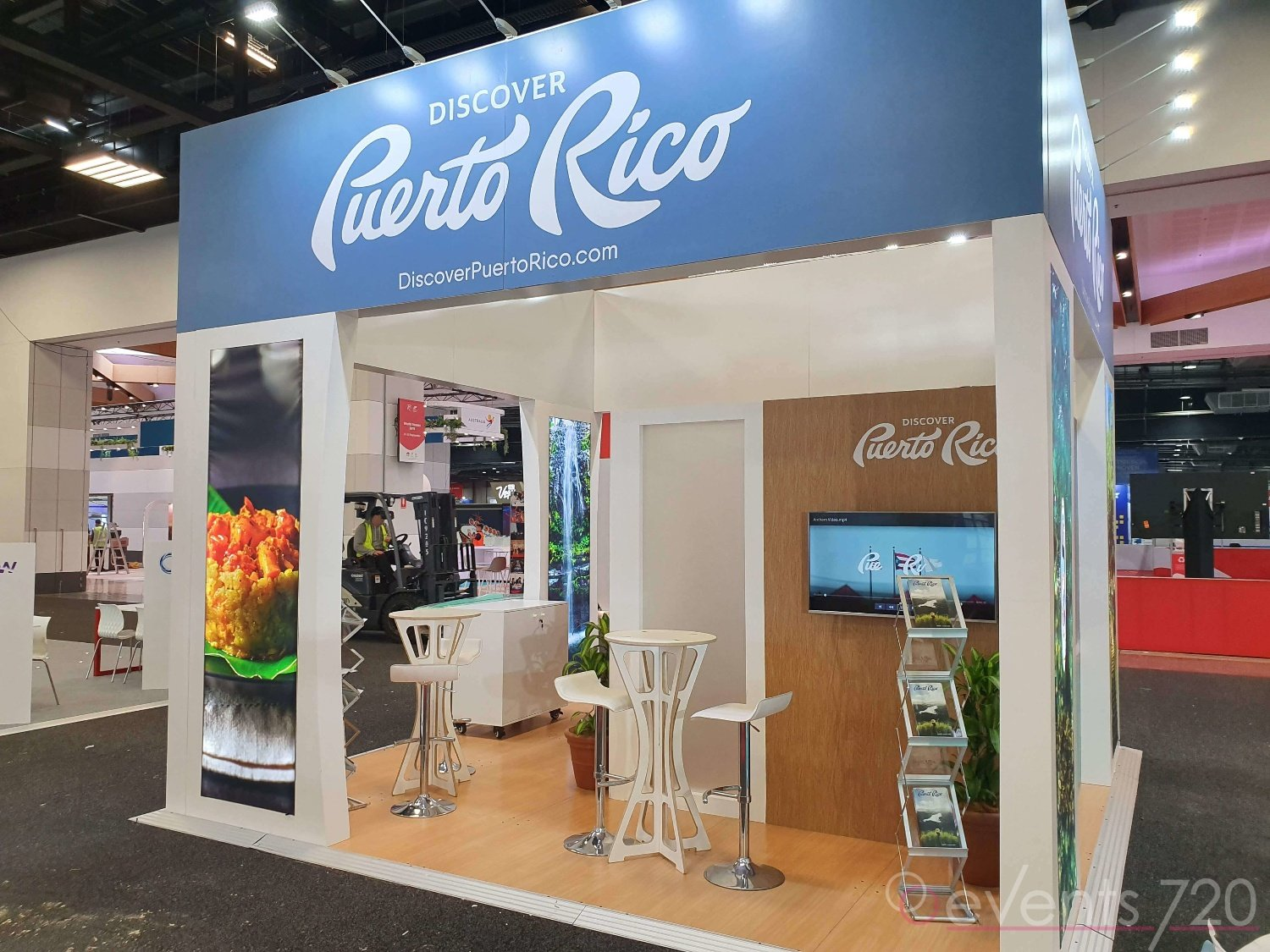 Puerto Rico Exhibition Stand at World Routes Expo