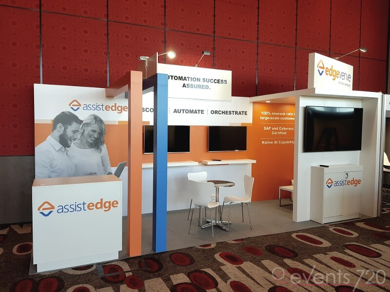 Edge Verve Exhibition Stand