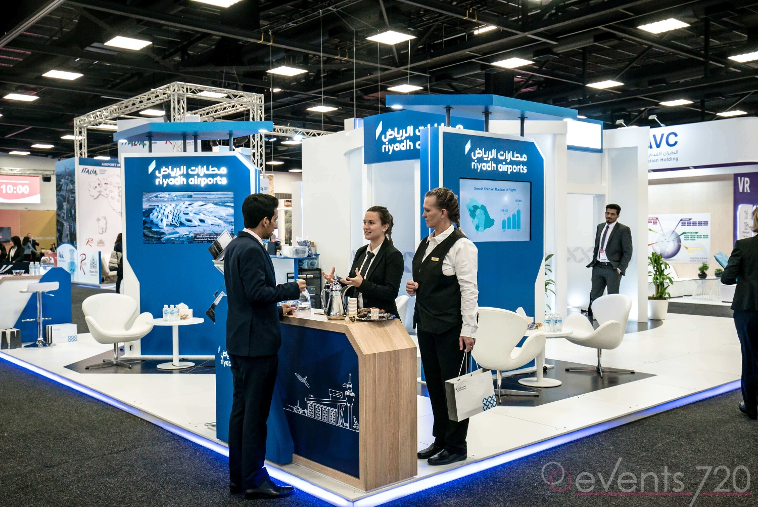 RIYADH AIRPORT  STAND - ADELAIDE TRAVEL ROUTES EXPO 2019-18-1