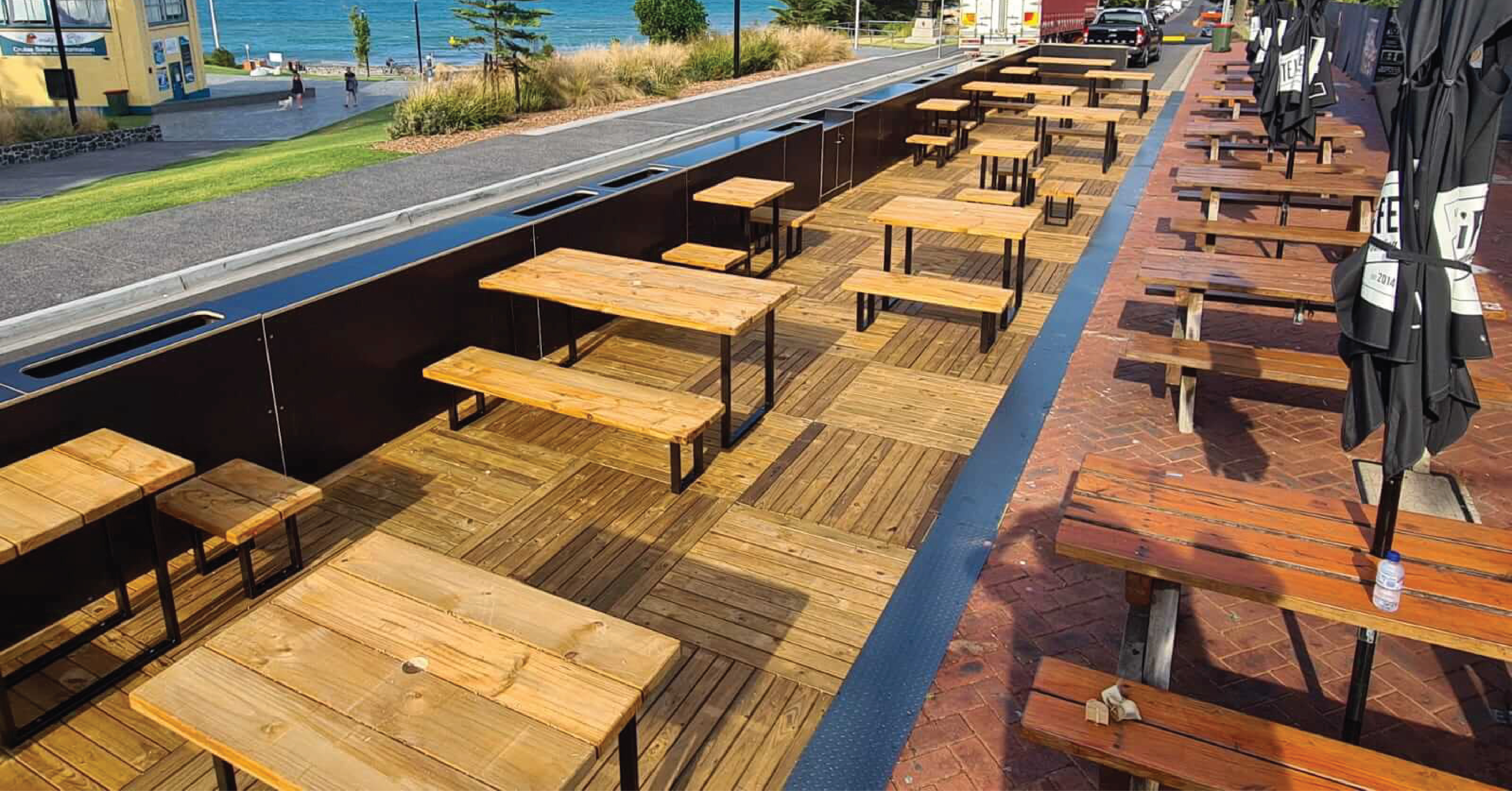 Parklet Outdoor Dining Extended in Melbourne...