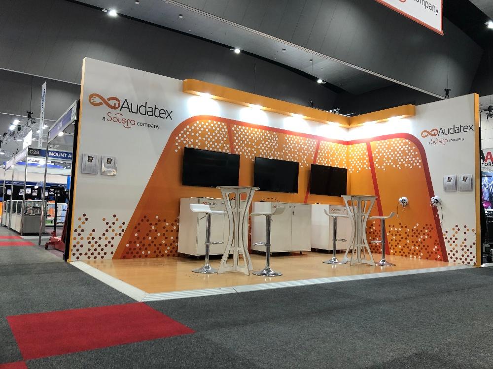 Audatex exhibition stand