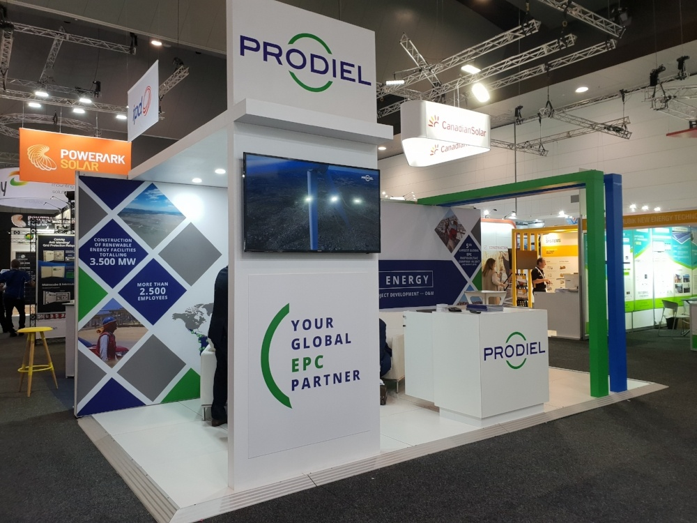 Prodiel Exhibition Stand