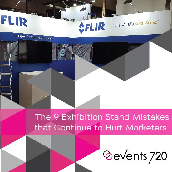 exhibition stand mistakes