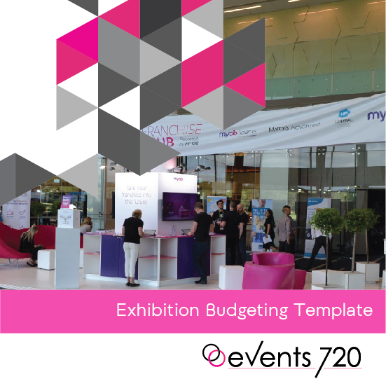 exhibition stand budgeting template