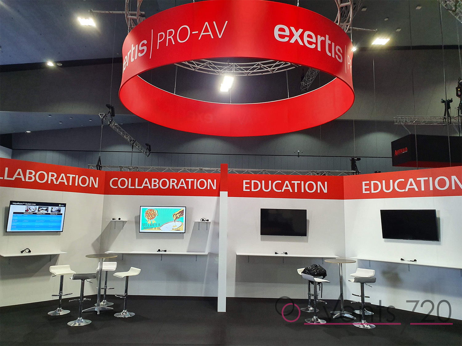 Exertis Pro Exhibition Stand