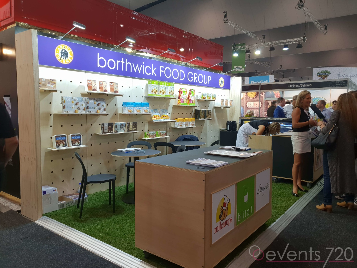 Borthwick Food Group Exhibition Stand