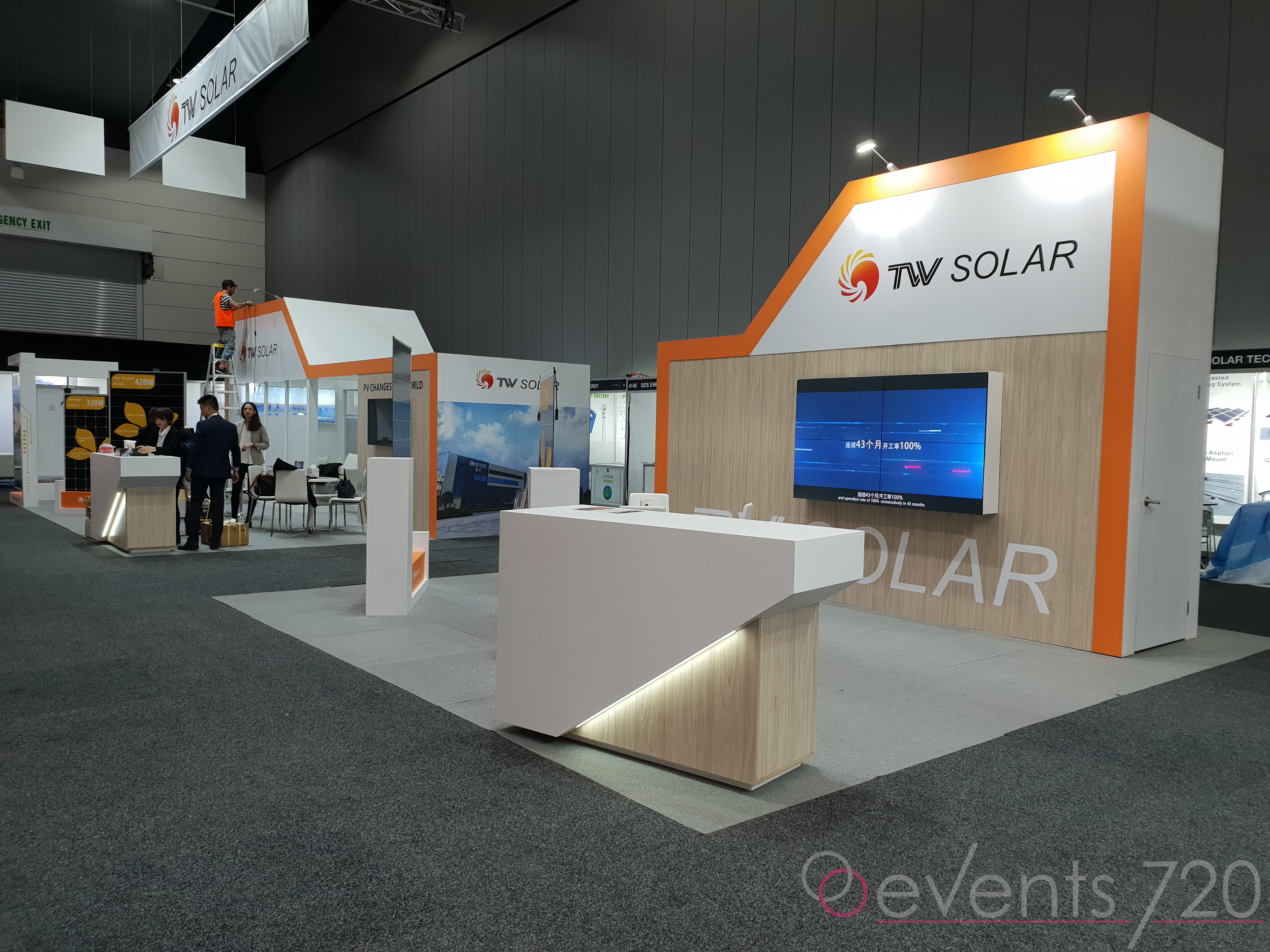 TW Solar Exhibition Stand