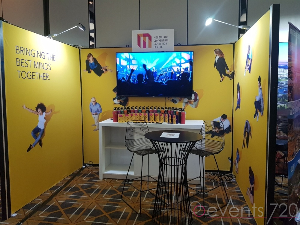 MCEC Exhibition Stand