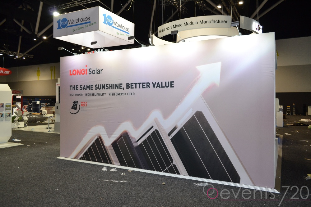 Longi Solar Exhibition Stand
