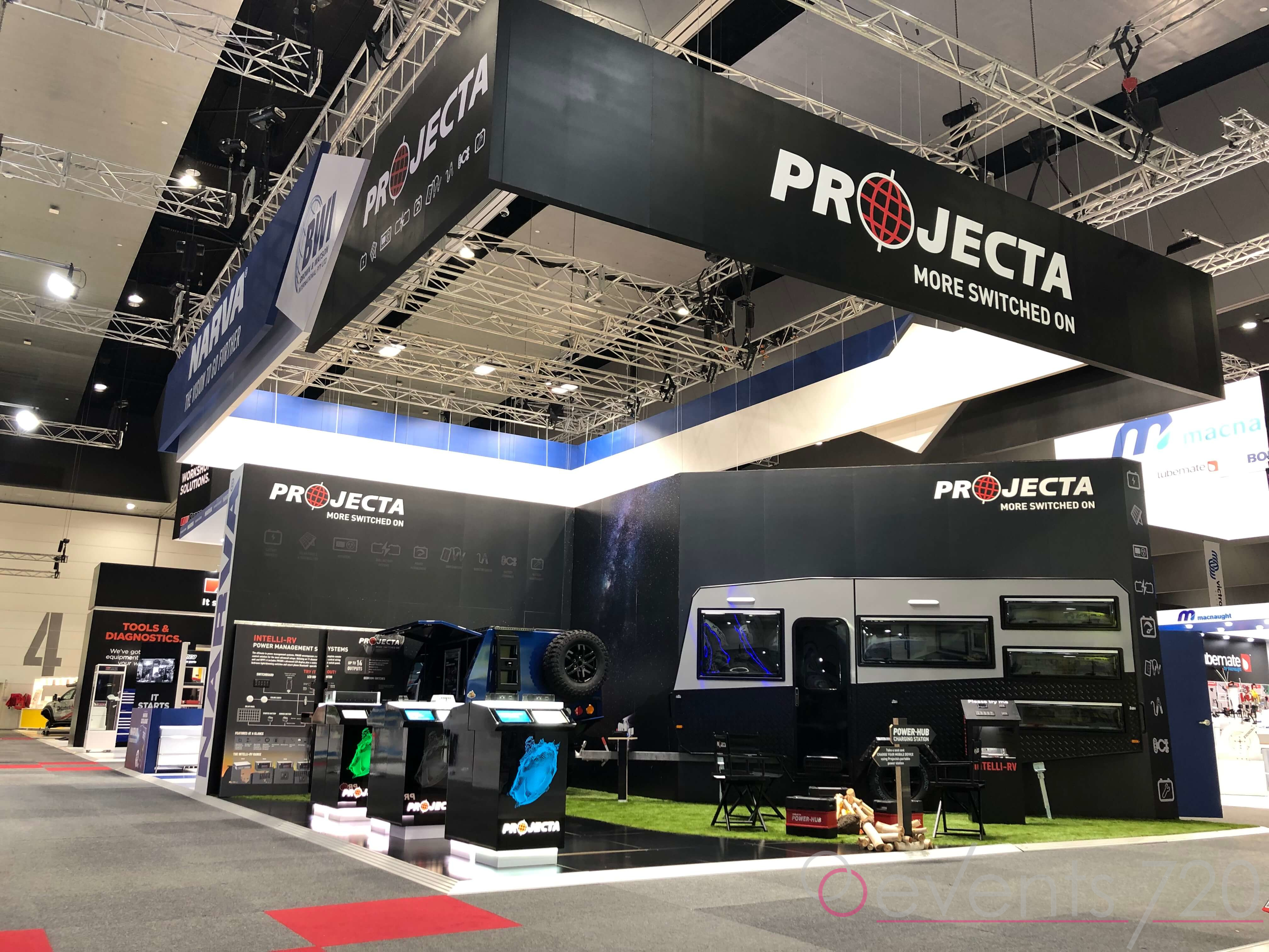 Projecta Exhibition Stand