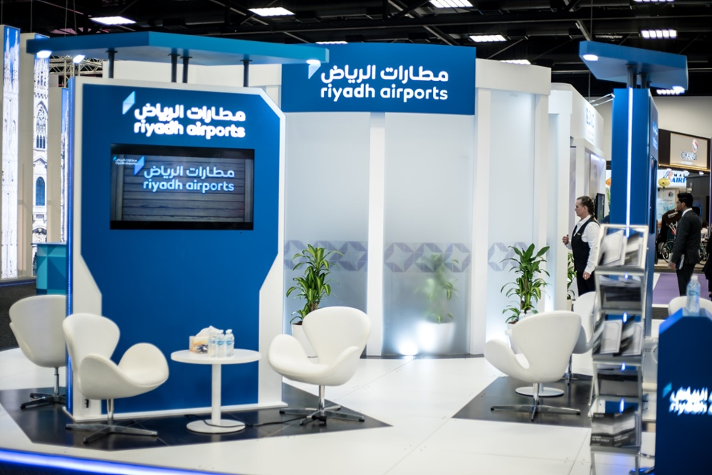 Riyadh Airport Exhibition Stand
